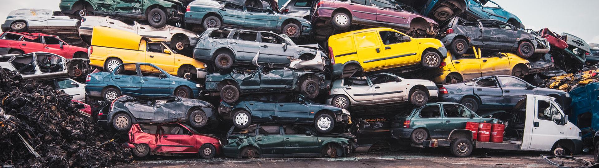 Kasacja pojazdów w okolicach Czarnkowa